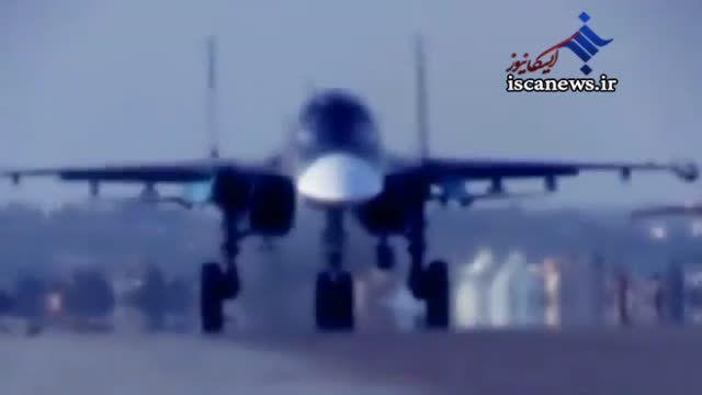 تصاویر متفاوتی از پرواز جنگنده های روسیه در آسمان سوریه