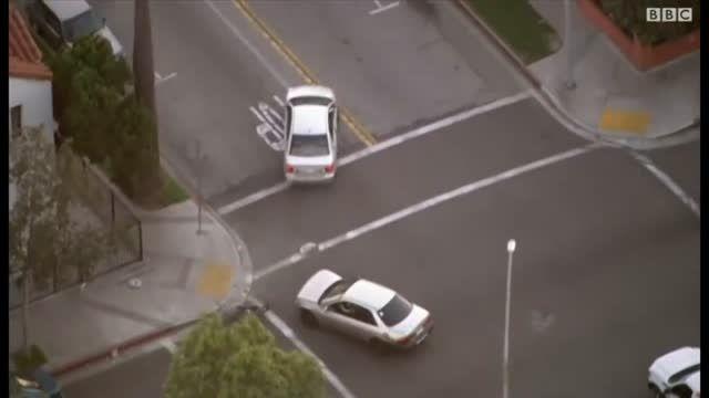 فرار از دست پلیس؛ تعقیب و گریز در خیابان های لس آنجلس