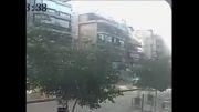 لحظه انفجار در مقابل سفارت ایران