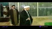 حضور آیت الله لاریجانی در مرقد حضرت امام ره