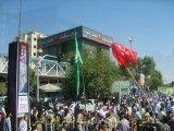 آتش زدن آبیسک روزه قدس در مشهد 91