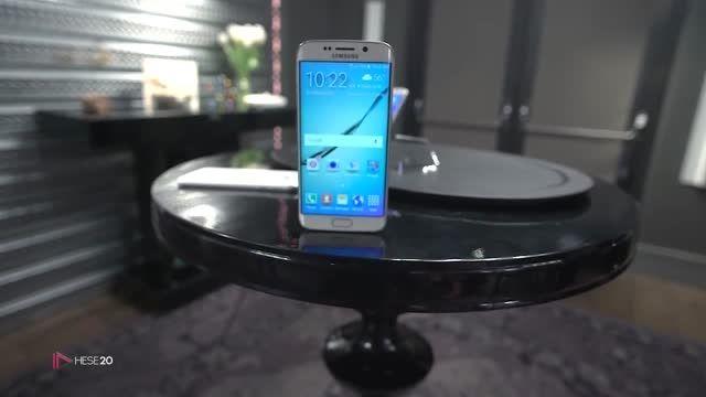 بررسی ویژگی های Galaxy S6 Edge