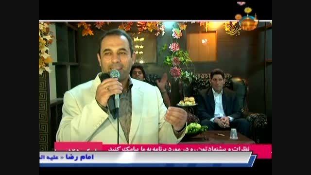 تشکر آقای بهمن هاشمی و مردم از اجرای مولودی منصور یونسی