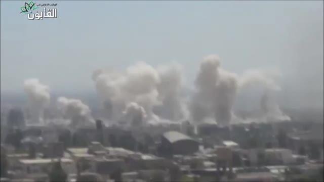 حمله راکتی سنگین، جوبر دمشق (کامل)