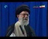 خطاب پایانی مقام معظم رهبری در نمازجمعه تهران سال 88