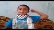 پیام کودک فلسطینی به اعراب، لحظاتی قبل از شهادت
