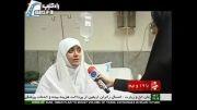 الهام چرخنده در بیمارستان و ناگفته هایش در مورد حجاب