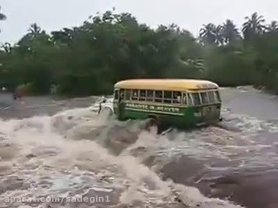 Bus Accident in Flood Bus Accident in Flood