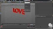 آموزش ویدئویی ساخت متن سه بعدی و طراحی افکت های متنوع ب