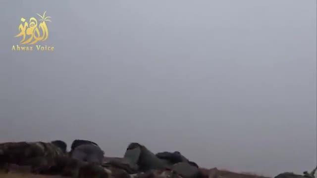 تصاویری از درگیری بسیج مردمی عراق با داعش در سامراء