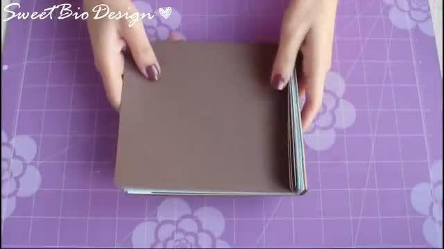 درست کردن یک دفتر خاطرات چند صفحه ای