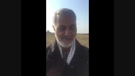 پیام جالب سردار سلیمانی به زبان عربی
