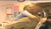 کلیپ بازگشت ناگهانی سربازان آمریکایی به خانه و پیش خانواده
