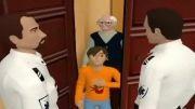 انیمیشن مزاحمت تلفنی اورژانس
