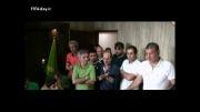 آخرین صحبت های علی دایی با بازیکنان پرسپولیس