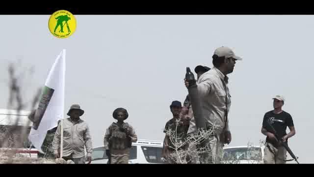 عملیات مردم عراق علیه داعش در سامرا