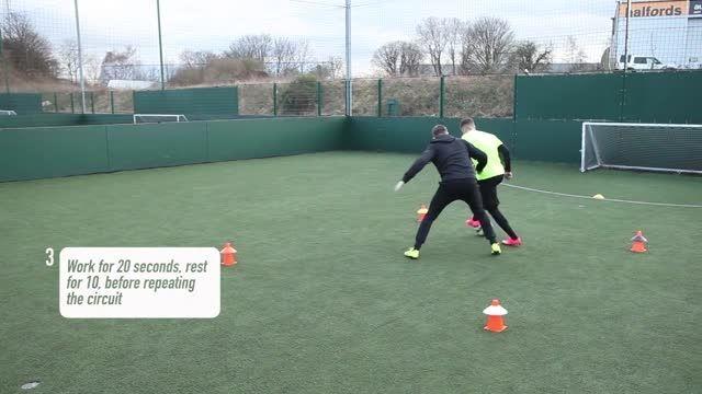 آموزش حرکات زیبا و تکنیکی فوتبال