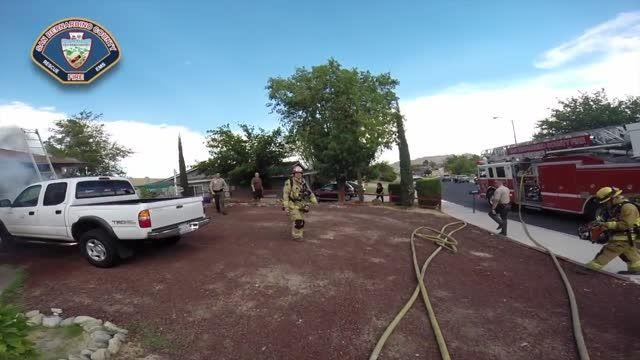عملیات نجات از نگاه دوربین Body Cam یک آتش نشان