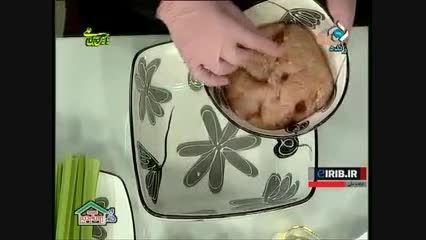 طرز تهیه کباب مرغ لقمه ای