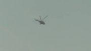 اصابت موشک زمین به هوا به بالگرد ارتش سوریه