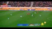 گل نوری در بازی ذوب آهن-پرسپولیس نیمه نهایی جام حذفی