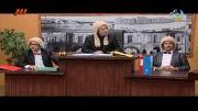 رئیس دادگاه و متهم درخنده بازار