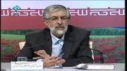 جواب حداد عادل به دستگیری میزبان عارف