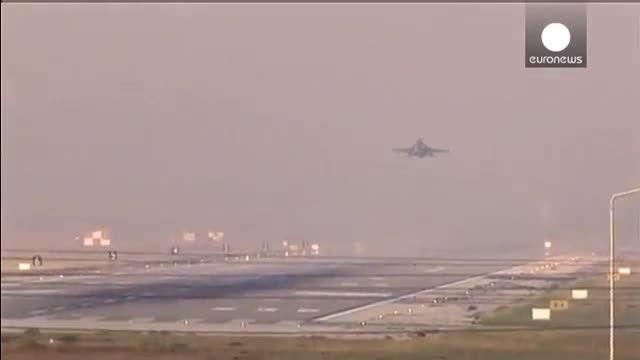 اولین مشارکت ترکیه در حملات هوایی با نیروهای ائتلاف