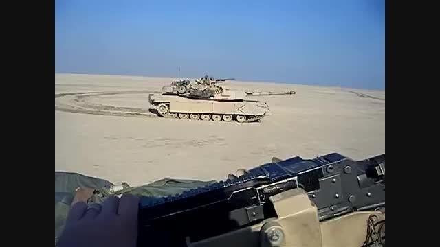 کورس دو تانک آبرامز (سریع ترین تانک های دنیا)