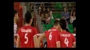 برد والیبال ایران برابر ولاسکو
