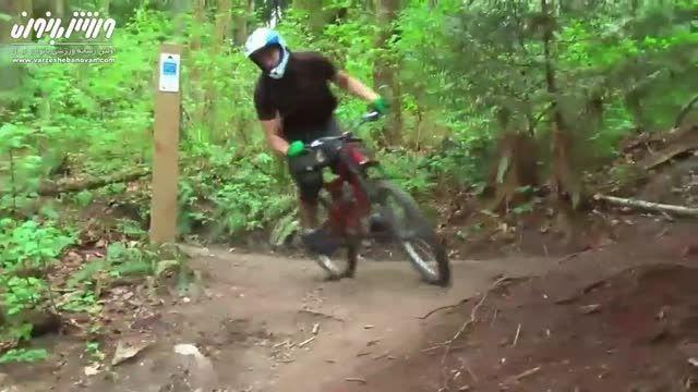 دوچرخه سواری در کوهستان