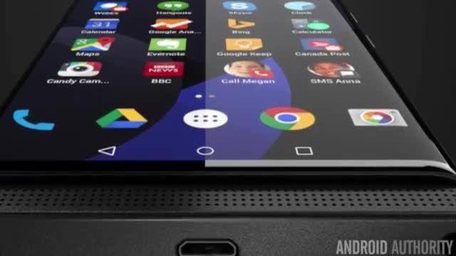 گوشی هوشمند Venice بلک بری با صفحه نمایش QHD