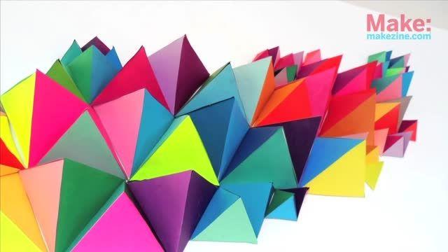 مجسمه سازی هندسی با کاغذ