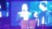صحبتهای احسان علیخانی در کنسرت  فرزاد فرزین