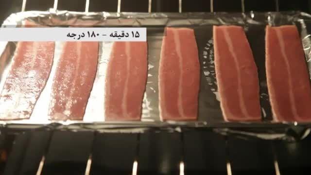 طرز تهیه سالاد کلم و گوشت