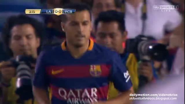 موقعیت خوب گلزنی پدرو رودریگز (بارسلونا VS لس آنجلس)