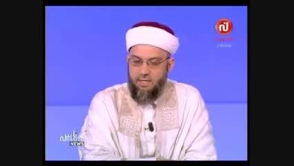 شیخ تونسی درباره وهابیت سخن می گوید. 1