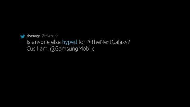 سامسونگ - شمارش معکوس برای Galaxy جدید