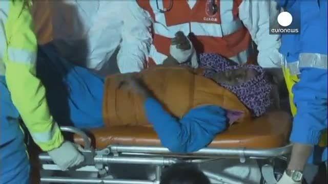 نجات 20 مهاجر سوخته در آبهای مدیترانه پس از چند روز