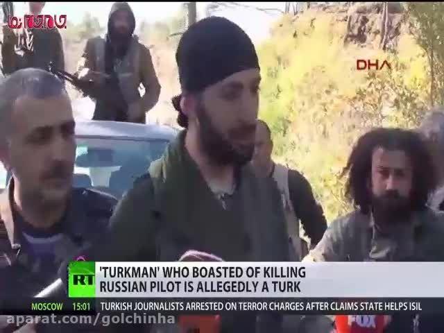 شناسایی عامل قتل خلبان جنگنده روسی(فیلم گلچین صفاسا)