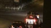بحرین:1392/10/29:کوکتل مولوتوف باران ماشین مزدوران آل-منامه