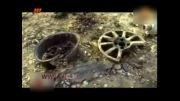 فیلم لحظات انفجار در صحنه فیلم برداری معراجی ها