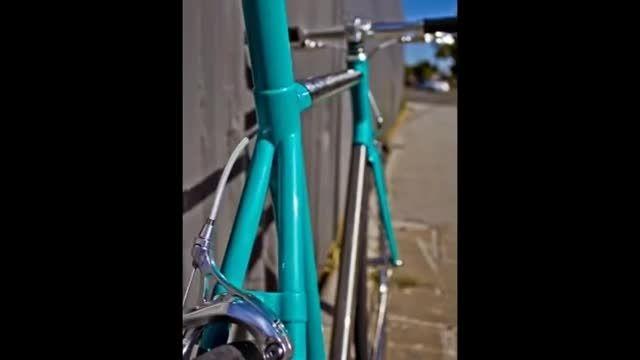 اولین دوچرخه تیتانیومی ساخته شده با پرینتر سه بعدی