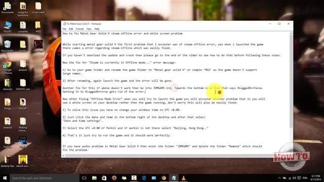 آموزش رفع مشکل آفلاین بودن Steam و سیاه بودن صفحه در MG