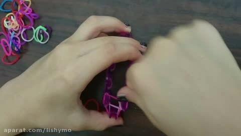 دستبند فانی بافت مدل گرد (سه تایی)