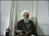 آیت الله العظمی صادقی تهرانی - دود مبطل روزه نیست