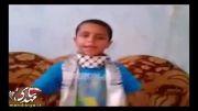 پیام کودک غزه ای به اعراب (لحظاتی قبل از شهادت)