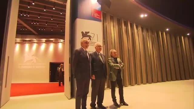 افتتاح هفتادویکمین جشنواره فیلم ونیز