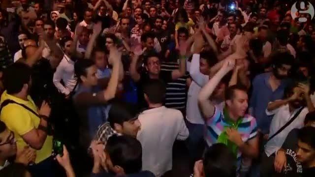 جشن توافق هسته ای در تهران