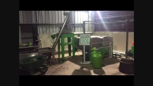 ویدیوی روغن كشی زیتون 800 كیلو در ساعت